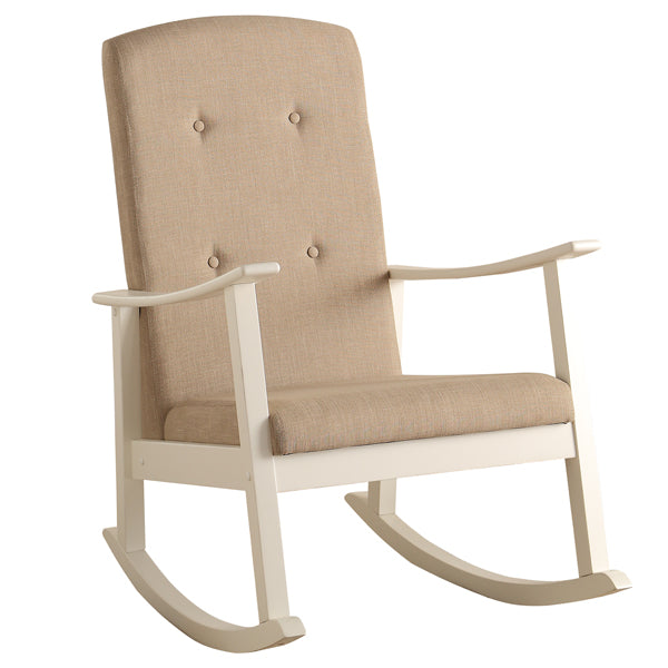 SUCY ROCKING CHAIR/WHITE