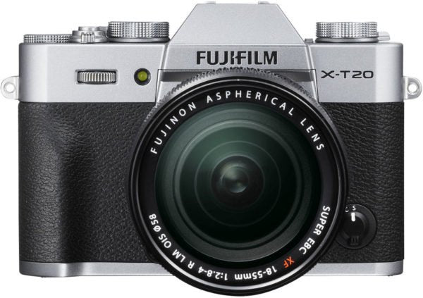 Fujifilm X-T20 Mirrorless Digital Camera Silver With XF 18-55mm 2.8-4 R LM OIS Lens