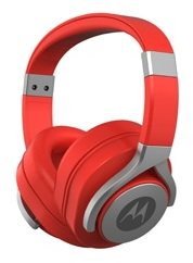 Motorola MPMAXAR Pulse Max Series Wired Headphone Red