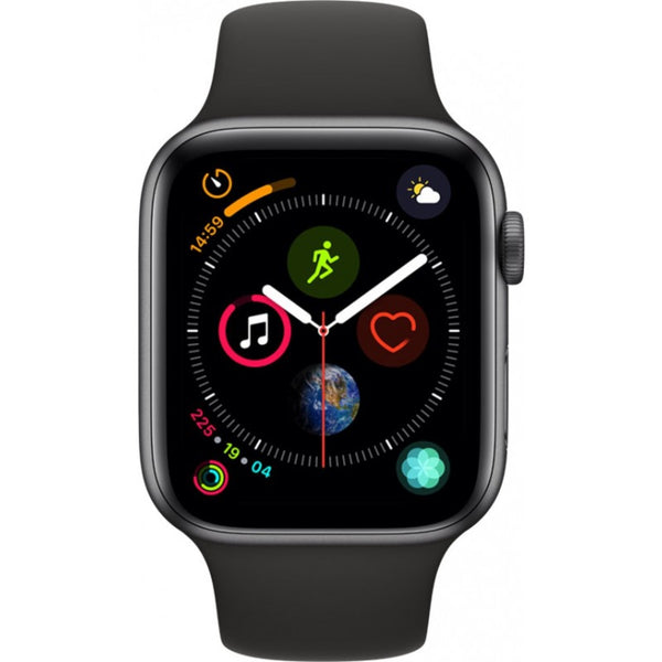 Apple Watch Series 4 - GPS 44mm Space Grey Aluminium Case with Black Sport Band