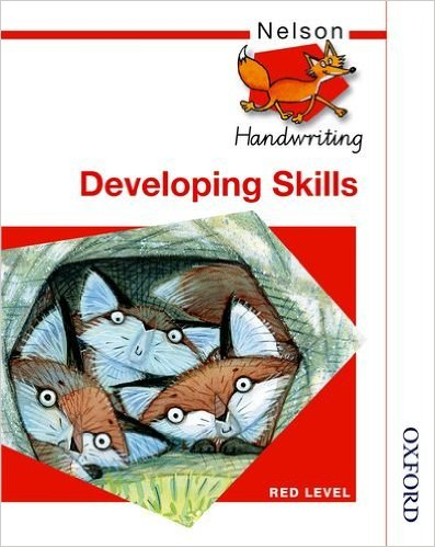 NELSON HANDWRITING - DEVELOPING SKILLS - RED LEVEL