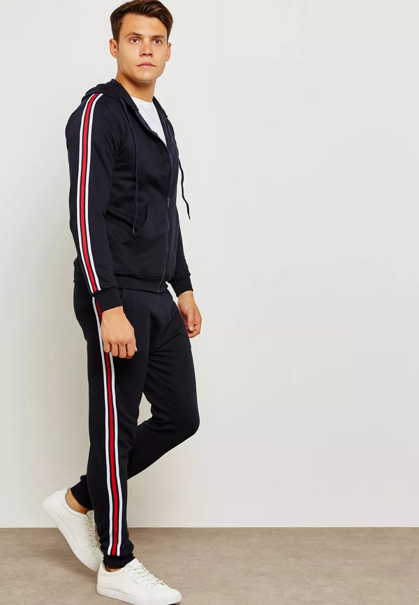 SEVENTY FIVE Side Tape Tracksuit