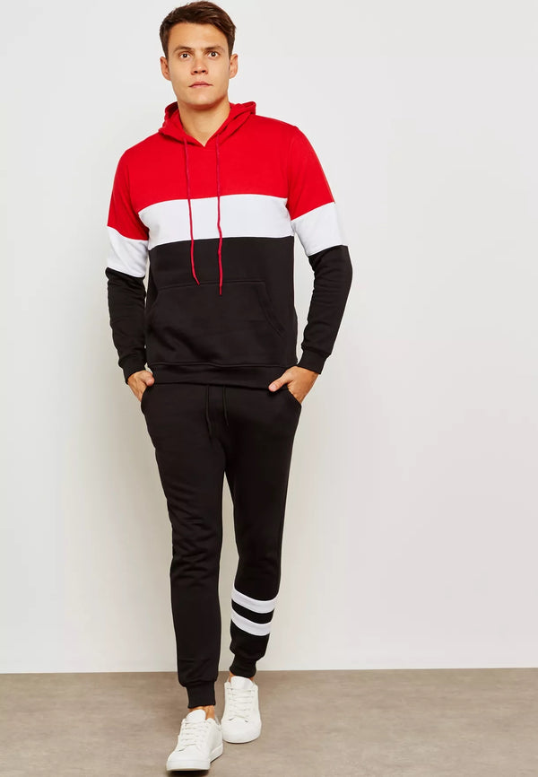 SEVENTY FIVE Colour Block Tracksuit