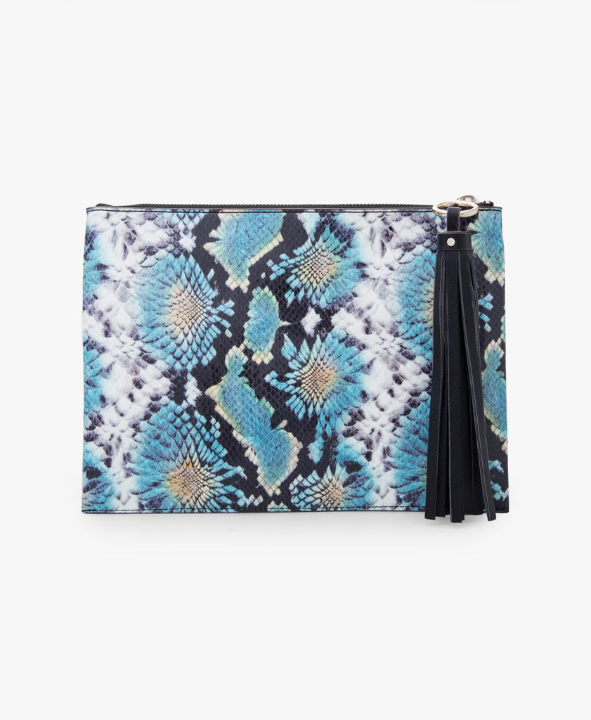Tipping Point Clutch Bag