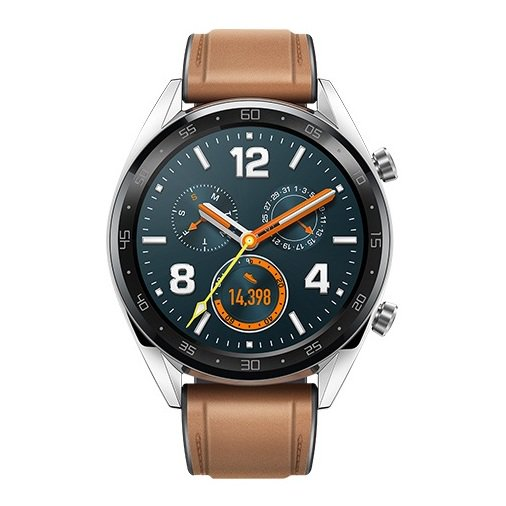 Huawei FTNB19 Smart Watch GT - Saddle Brown