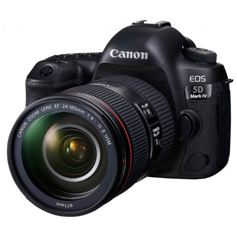 Canon EOS 5D Mark IV 30.4MP DSLR Camera with EF 24-105mm F/4L IS II USM Lens
