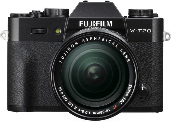 Fujifilm X-T20 Mirrorless Digital Camera Black With XF 18-55mm 2.8-4 R LM OIS Lens