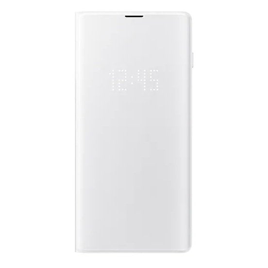 Samsung EF-NG975PWEGWW LED View Case White For Galaxy S10 Plus