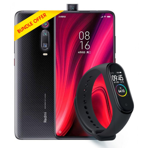 Bundle Offer - Mi 9T 128GB 6GB Carbon Black & Mi Band 4