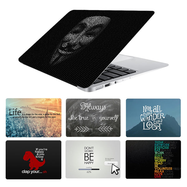Inspired Quote Laptop Skin Sticker