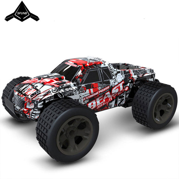 RC Car 2.4G 4CH Rock Crawlers Driving Car Drive Bigfoot Car