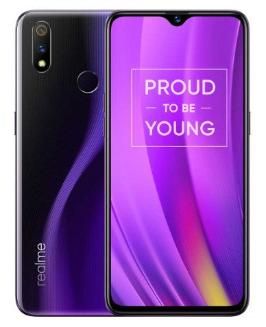 Realme 3 Pro - 128GB 6GB RAM Lightning Purple