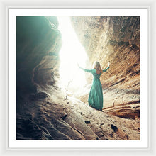 Load image into Gallery viewer, She Saw The Light - Framed Print