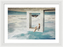 Load image into Gallery viewer, Upside Down - Framed Print