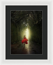 Load image into Gallery viewer, Running To The Light - Framed Print