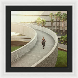 The Pathway - Framed Print