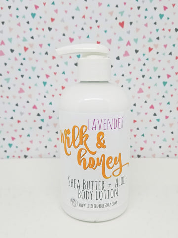 Lavender Milk & Honey Lotion