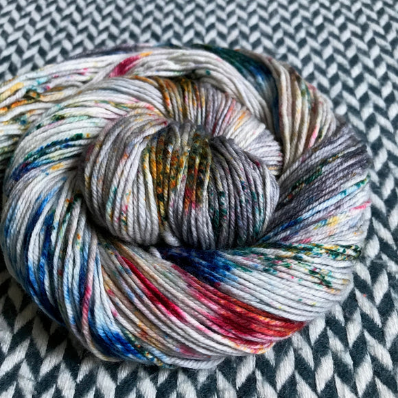 HIPPOCAMPUS -- Times Square sock yarn -- ready to ship