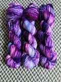 LAGO FIORI -- Broadway silver sparkle sock yarn -- ready to ship