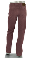 ALBERTO JEANS DENIM STONE SUPER STRETCH CRIMSON ST1687-390 1687 SUPER FIT RED