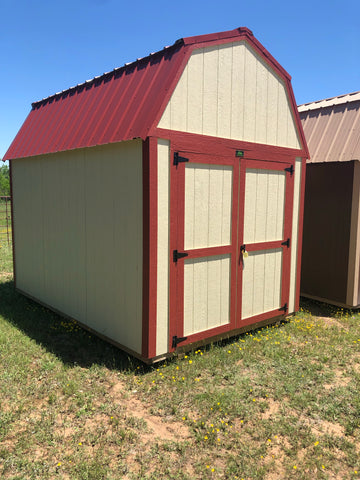 8 x 12 Urethane Lofted Barn