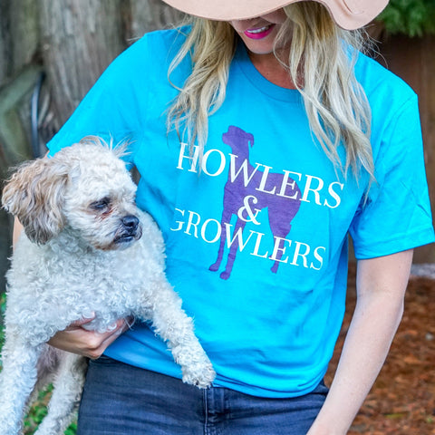 Howlers & Growlers Short-Sleeve Unisex T-Shirt