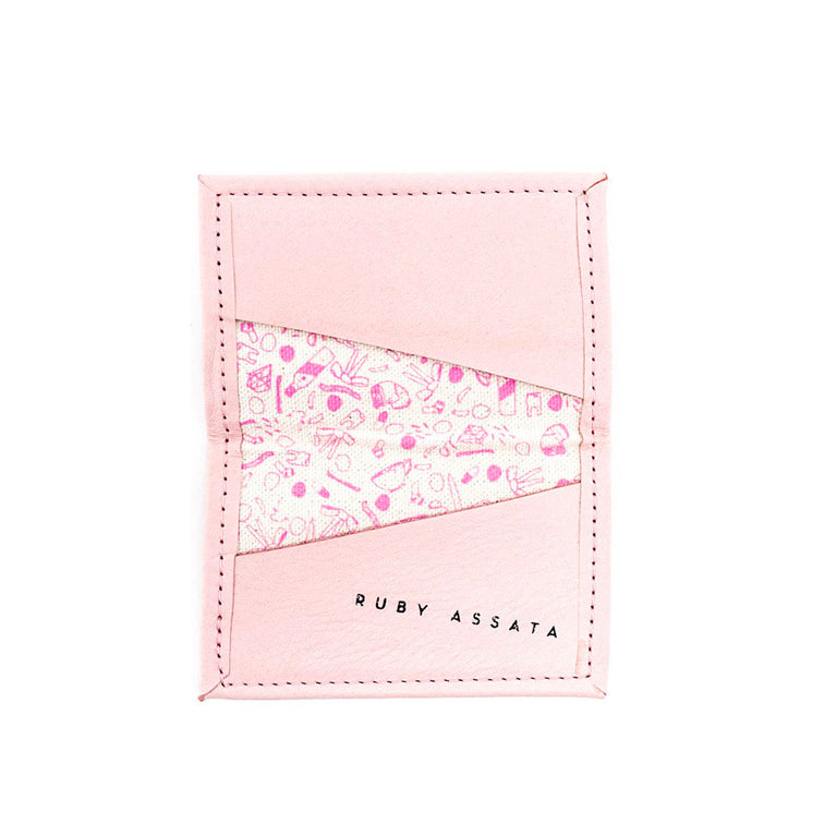 SALTWATER TAFFY PINK / PINK TINY WALLET
