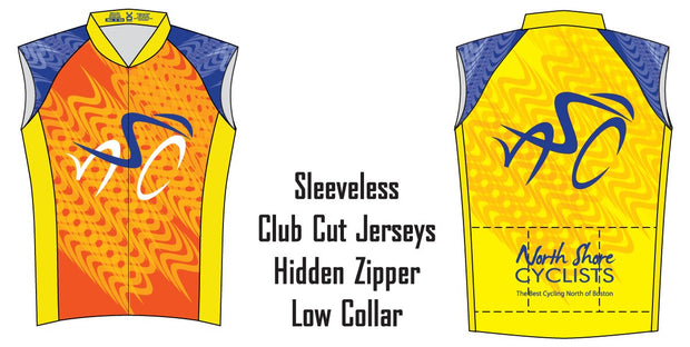 North Shore Cyclists Sleeveless Club Jersey
