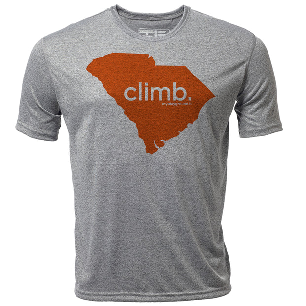 climb. South Carolina + Mens SS Hybrid T