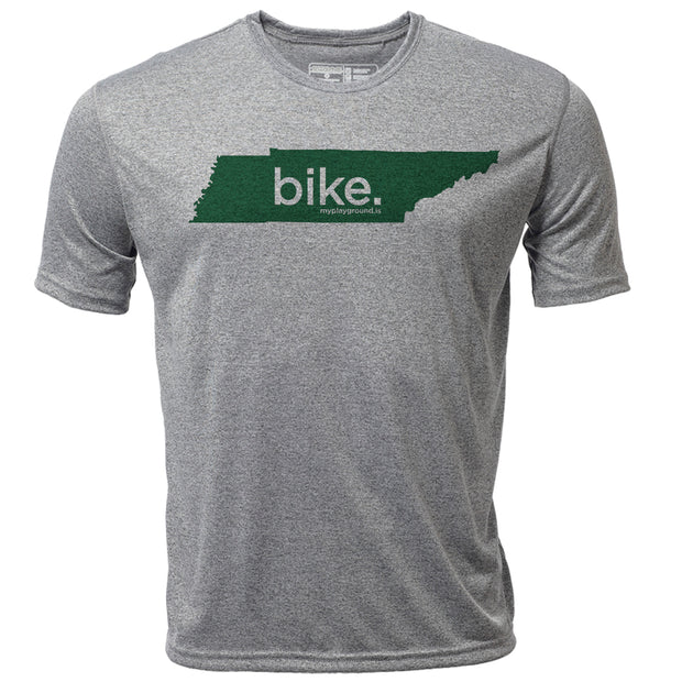 bike. Tennessee + Mens SS Hybrid T
