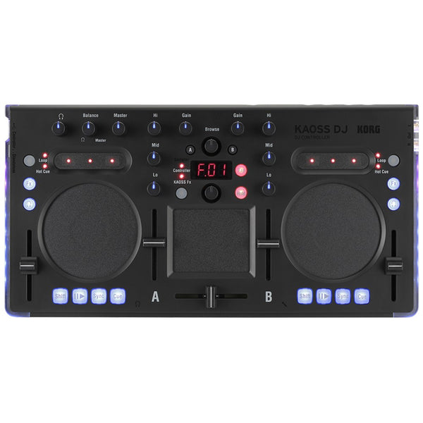 Korg KAOSS DJ Controller for Serato with a built-in KAOSS PAD