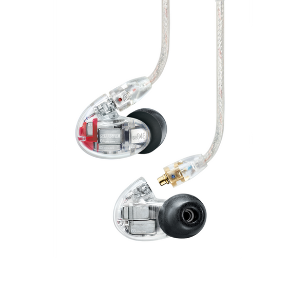 Shure SE846 Sound Isolating Quad Driver Earphones Clear