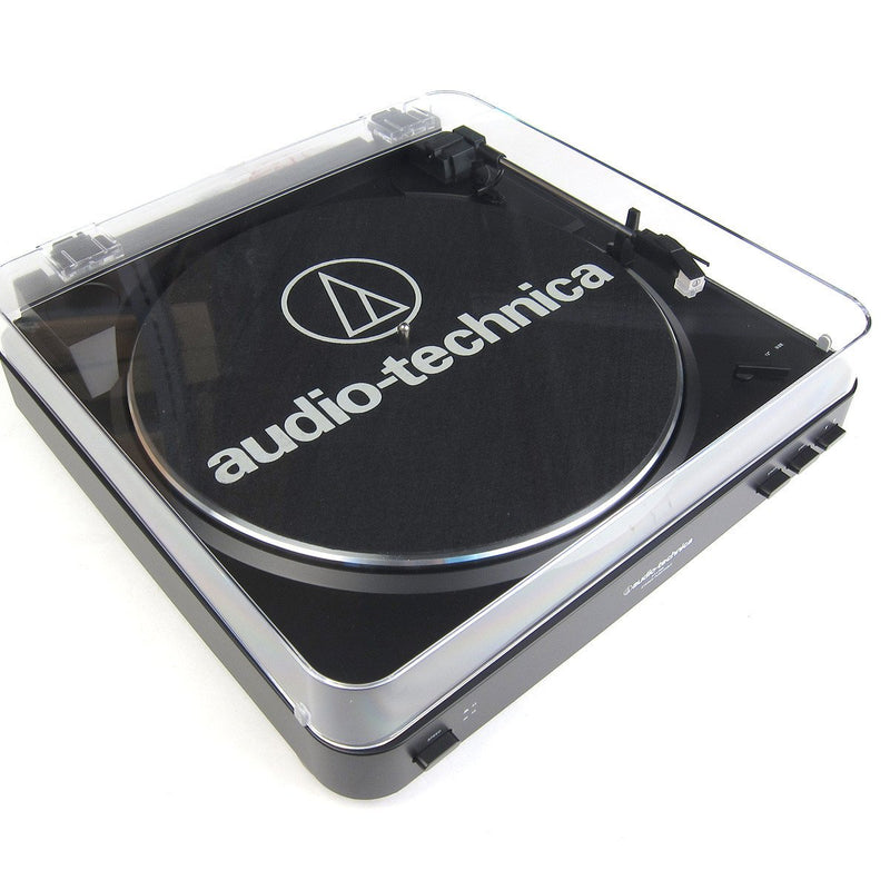 Audio Technica AT-LP60BT Fully Automatic Wireless Bluetooth Turntable (Black)