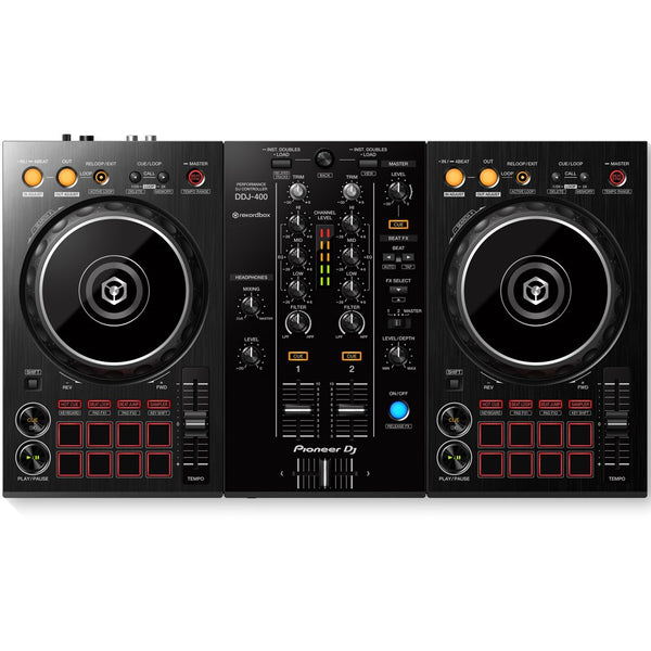 Pioneer DDJ-400 2-Channel DJ controller for Rekordbox DJ | Beginner Pack 1