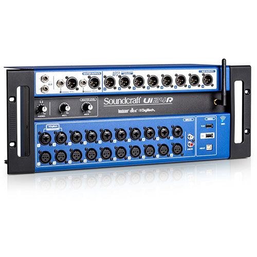 Soundcraft Ui24R | 24-Channel Digital Mixer/USB Multi-track Recorder with Wireless Control