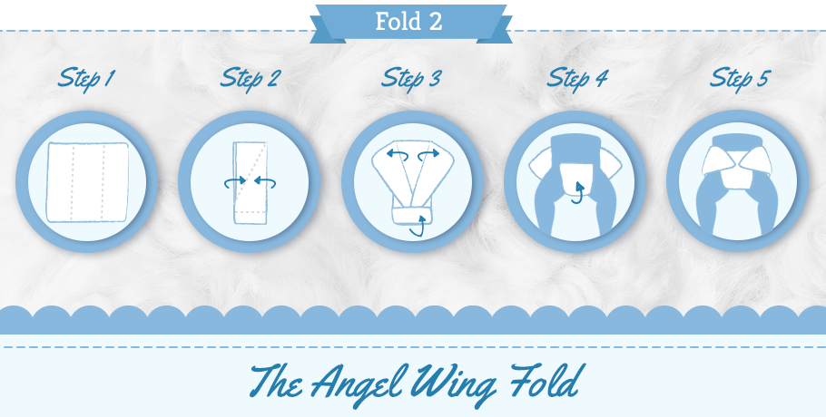 diaper angel wing step by step graphic