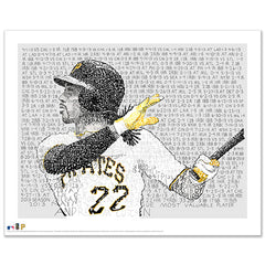 Andrew McCutchen 2013 NL MVP Word Art