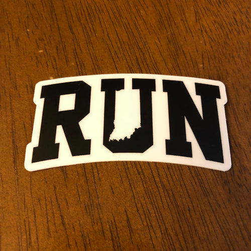 Run Indiana Sticker