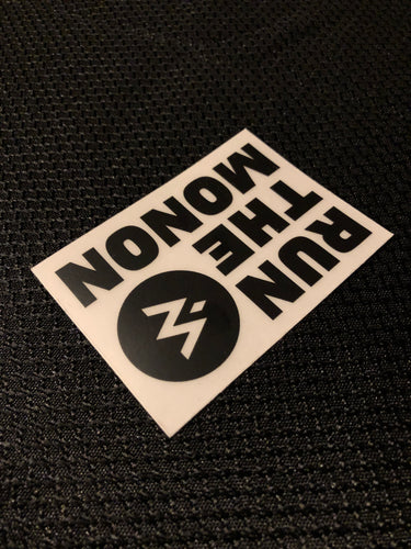 Run The Monon Sticker