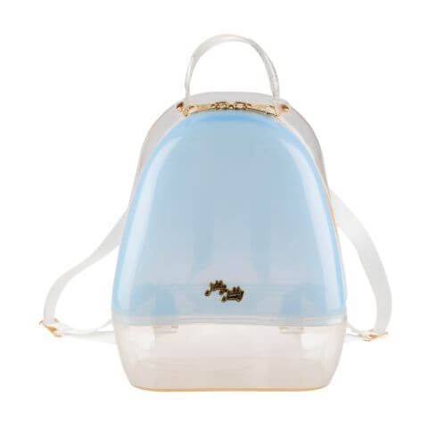 Blue Clear Annabelle Jelly Backpack