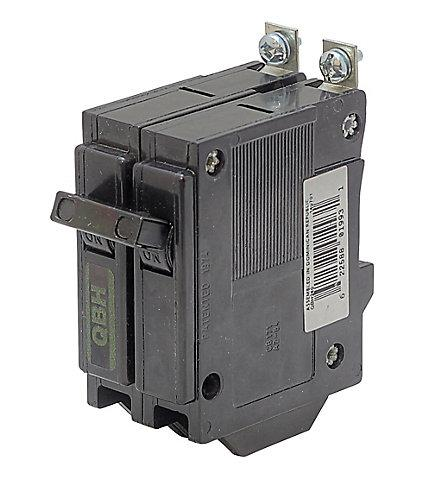 QBH260 - Commander  60 Amp Double Pole Circuit Breaker