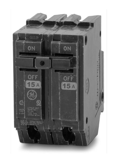 THQL2115 - GE 15 Amp Double Pole Circuit Breaker