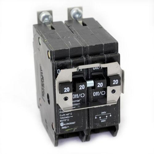 BQLT-220-220 - Eaton Cutler-Hammer 20 Amp 2 Pole 240 Volt Bolt-On Circuit Breakers