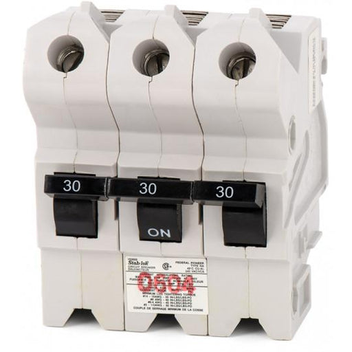 NA3P30 - Federal Pioneer 30 Amp 3 Pole Circuit Breaker