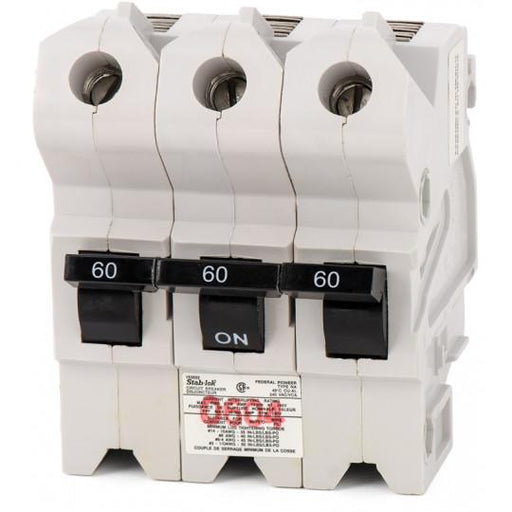 NA3P60 - Federal Pioneer 60 Amp 3 Pole Circuit Breaker