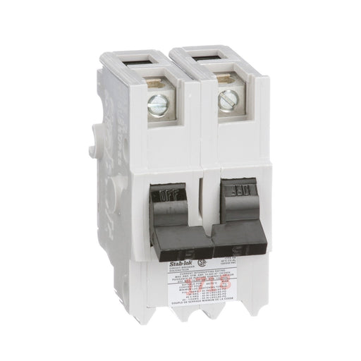 NB215 - Federal Pioneer 15 Amp Double Pole Bolt-On Circuit Breaker