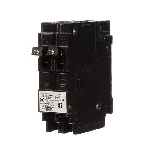 Siemens Q1515 Space Saver Twin Circuit Breaker
