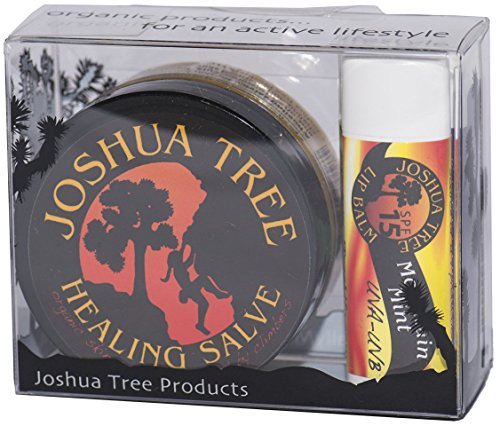 Joshua Tree Organic Climbing Salve Skin Protection Gift Set
