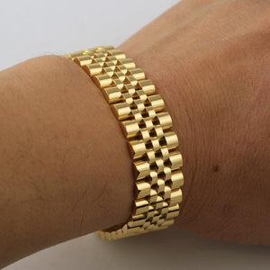 Goldplated Jubilee Armband