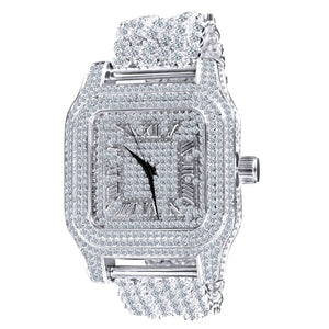 Fully Iced Out King Square XXL horloge